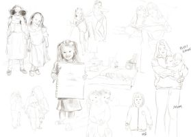 Sketches - Childhood by mynti