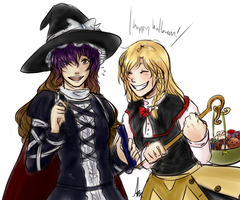 witch magicians by Amaranth-Pink