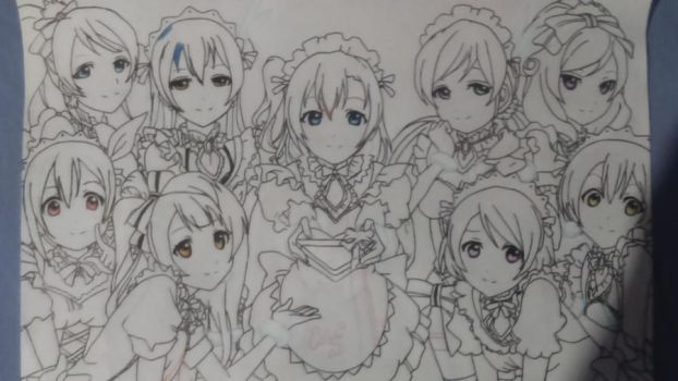 Love Live! (WIP) by lucasnava