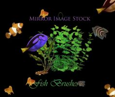 Fish Brushes by mirrorimagestock