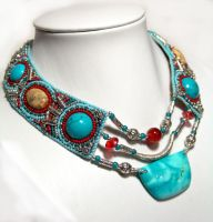 Turquoise Ethno by gbdreams