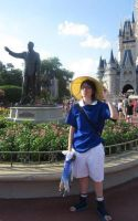 Sasuke in Disney World by blondewolf2