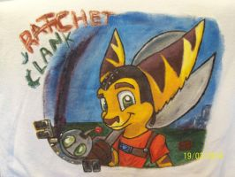 Remera Ratchet y clank by mellis-lion