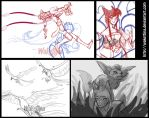 Lol sketches collection by Wakettina