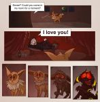 The power of eevee love by JWiesner