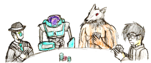 TvD: The Poker Gods by IrateResearchers