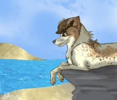 Sea front by mel-wolf