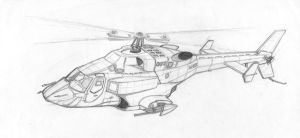 Airwolf Flyby by MartinS819