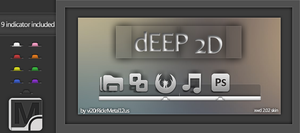 dEEP 2D for XWD 2.0.2 by vi20RickrMetal12us