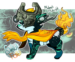 [SoulFox Advent] Day 19: Midna's Midnight by SetSaiI