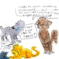 warrior cats comic by leaftail99