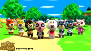 (MMD Model) Bear Villagers Download by SAB64