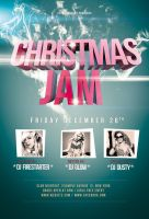 Christmas Jam Flyer / Videoflyer by nadaimages
