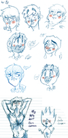 Doodly Beatles Doodles [1] by Jim-the-Oni