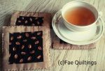 Coasters with Coffeebeans by TerraRavenBearheart