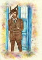 Tenth Doctor | Fanart by cloudylicious
