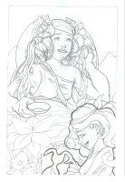 Hera and Hebe-- Sketch by Trounced