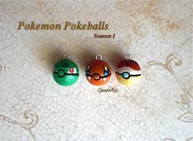 Pokemon Pokeballs Season 1 by GandaKris