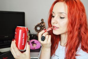 Share a Coke with me! by Fantasia-Art