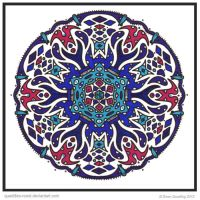 Mayan Mandala Collab by Quaddles-Roost