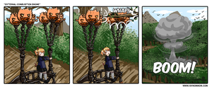 FFXIV Comic: External Combustion Engine by bchart