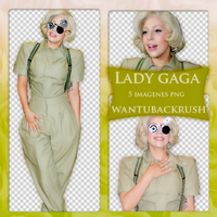 +Lady Gaga PNG by WantUBackRush