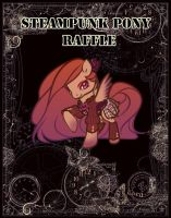 Steampunk Pony - RAFFLE - CLOSED by Vixen-Adopts