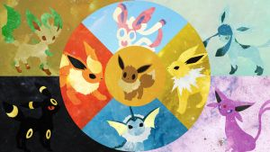 Eeveelution by DrBoxHead