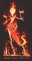 daily hero - flame vampire by shoze