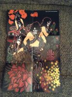 KISS Mural Page 3 (Peter Criss) by UKD-DAWG