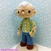 Custom Crochet - Ernie by CraftyTibbles