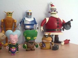 Futurama/SouthPark/FamilyGuy Figure Collection 3/3 by RobotHellboy1114