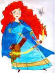 Merida* the Bravest of them all. by CartoonistInPink