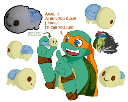 TMNT: Plush turtle by NamiAngel