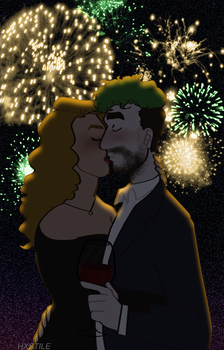 New Years Kiss by hxstile