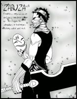 Naruto Fanart - Zabuza by ColorfulWind