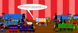 TAF - NWRA - Percy Sings Afro Circus by LGee14