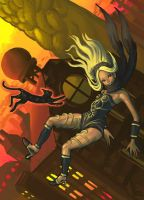 Gravity Rush by EmperorAtma