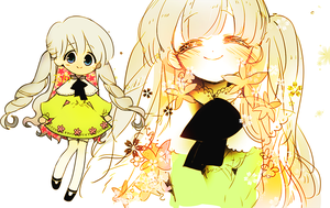 [CLOSE]Auction: Adopt a girl: Flower hair by memoneo