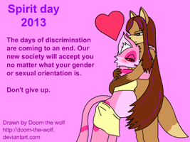 Spirit Day 2013 by Doom-the-wolf