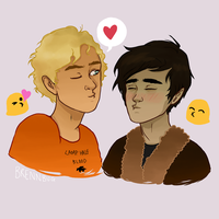 Nico And Will  by brennbug
