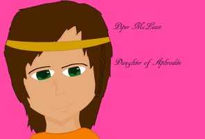 Piper McLean by lollimewirepirate
