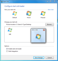 Win7 Start Orb Loader v1.1.1 by stkov