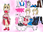 Sweet Karin Dressup by willbeyou