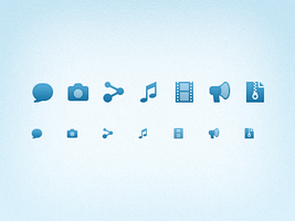 16px Post Type Icons by Ashung
