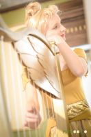 Golden Harp Cosplay from Fun and fancy free by ayral