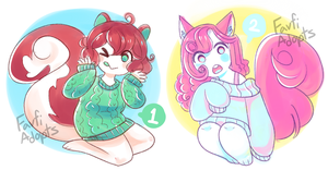 LOWERED PRICE Adopts (CLOSED) by FavfiAdopts