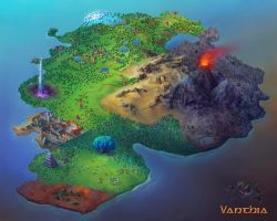 Vanthia map by karola-j