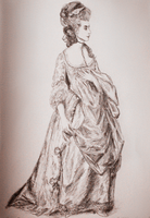 Gainsborough's Grace Elliot by olde-fashioned