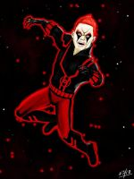 Red lantern Guy gardner by nickbeta26